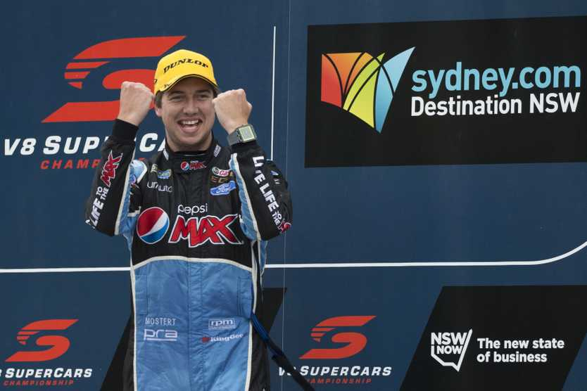 Chaz Mostert is looking forward to a better 2016 campaign. Photo: AAP Image.