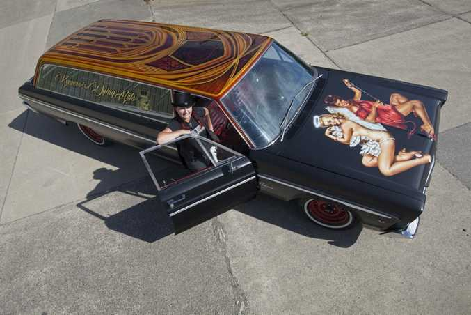 Vick Pattison is selling her beloved 1965 Dodge hearse, Holly.