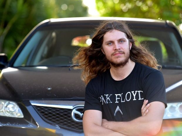 Zac Luke was hit with fines of almost $3000 for an unregistered vehicle.