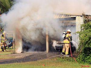 Sedan blamed for starting Camira blaze