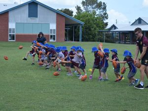 AFL Community Camp: Fun from Yarrilee State School