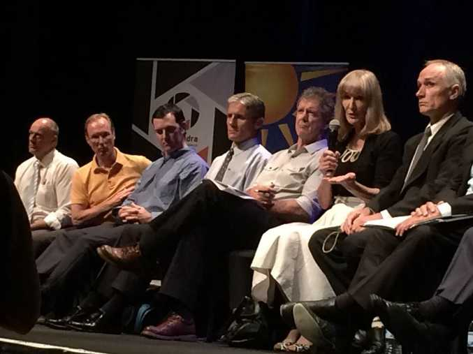 Tonight's council election forum is underway in Caloundra.