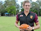 Brisbane Lion Tom Bell visits Hervey Bay to promote AFL