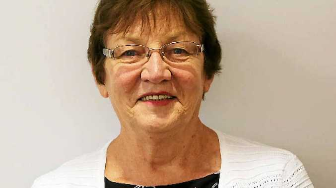 HAT IN THE RING: Central Highlands Deputy Mayor Gail Nixon will run for councillor.