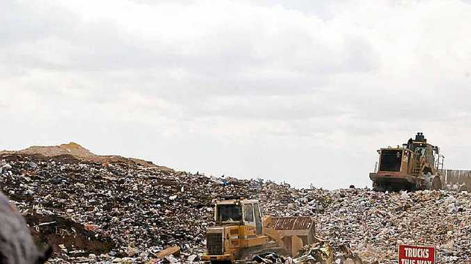 WHAT WASTE: A modern landfill operation – Noosa wants waste to be cost neutral.