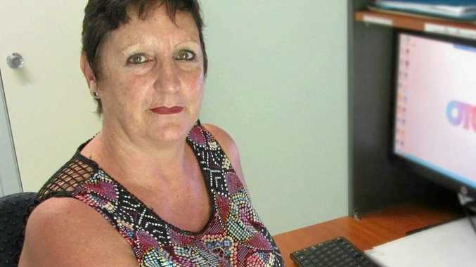 TOUGH JOB: On track Community Programs senior domestic violence worker Debby Maddox sees the worst of humanity.