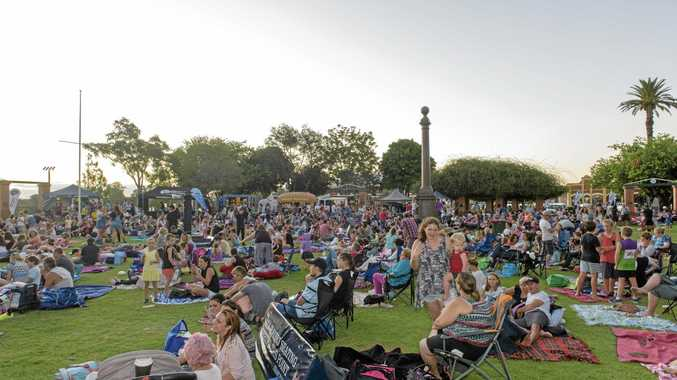 FAMILY FUN: More events around the riverfront, like the recent Cinema Under the Stars, are among the suggestions for things to enhance life in the Clarence Valley.