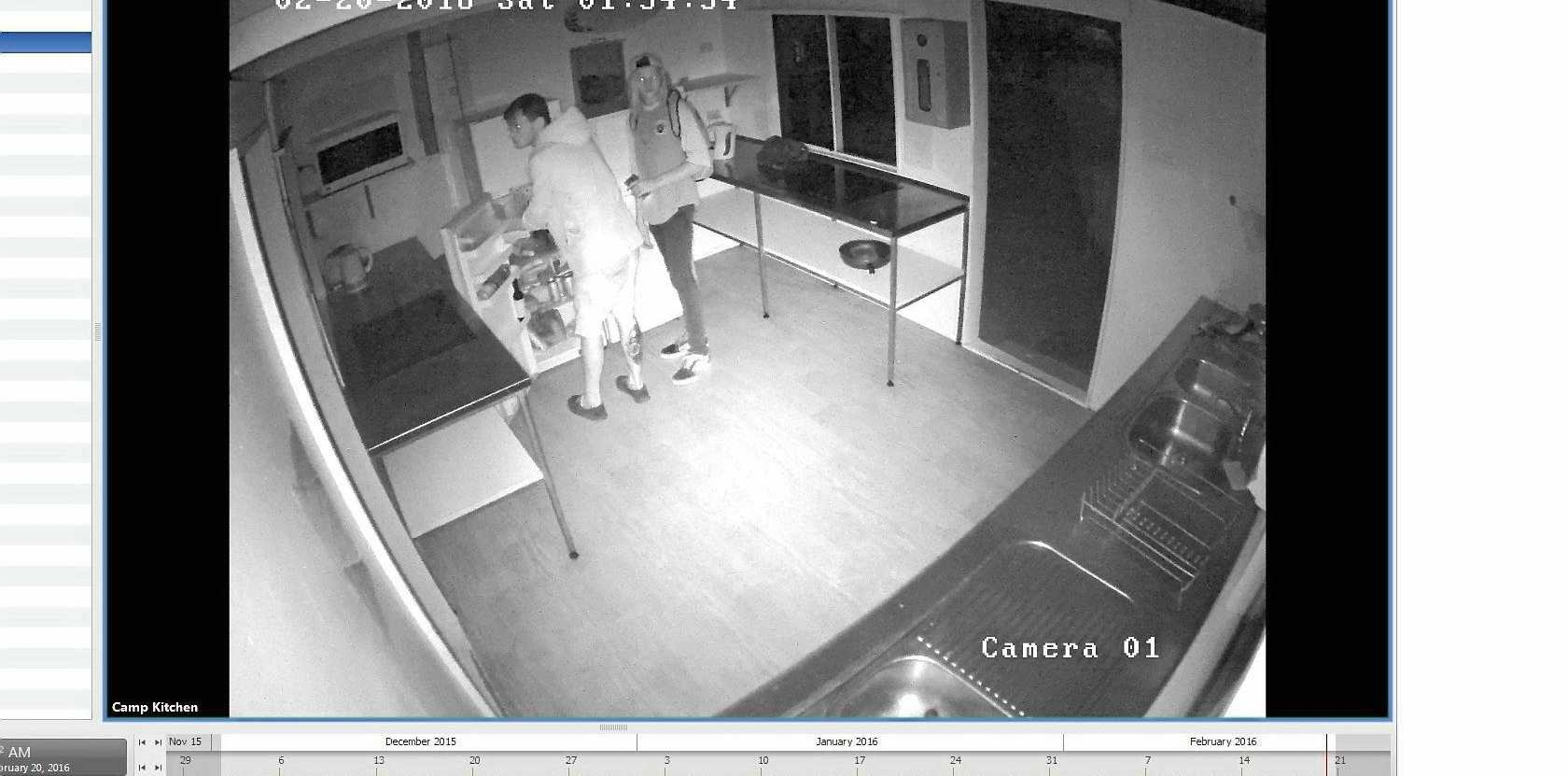 Tweed/Byron Police are searching for these would-be fridge thieves.