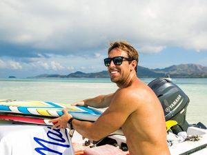 Big wave surfer Mark Visser pumped for predicted swell