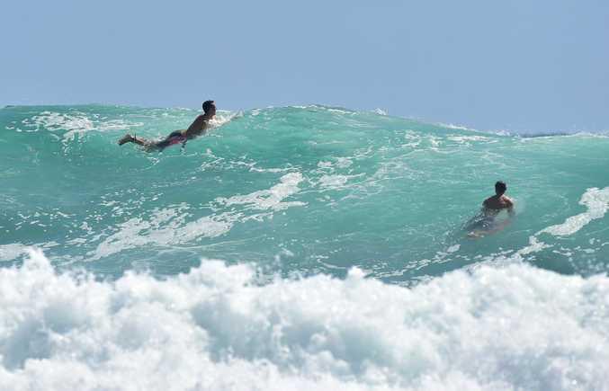 Big surf on the way for the Sunshine Coast.
