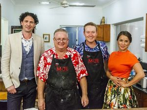 Mike and Tarq's troppo night on MKR satisfies