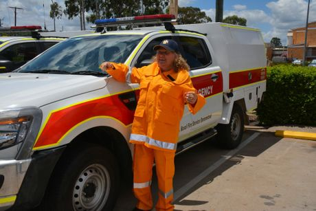 OPEN DAY: Tracey Goldsmith wants new blood in the rural fire service. Photo Kate Darvall/ South Burnett Times