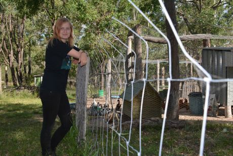 MAIDENWELL VOLUNTEER: Kirsten Butters says she's got the time but not the finances to help people in need. Photo Kate Darvall/ South Burnett Times