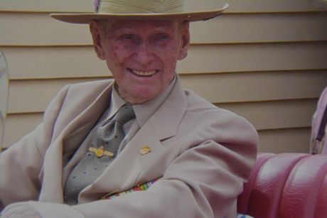 RAT OF TOBRUK: Ros Frohloff remembers her father Leslie Campbell-Pedersen 75 years after his service. Contributed
