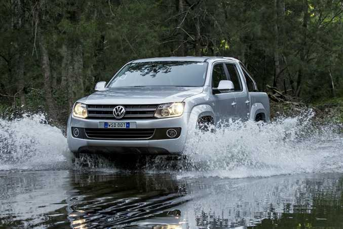 The VW Amarok will be the first to receive a software update.