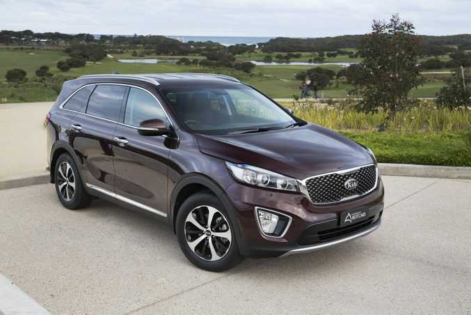 Kia Sorento, Family Wagon winner, Australia's Best Cars 2015. Photo: Contributed