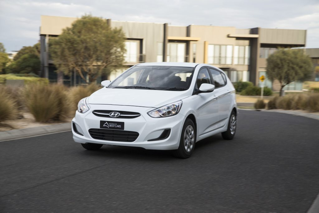 Hyundai Accent Active, Best Light Car winner, Australia's Best Cars 2015. Photo: Contributed