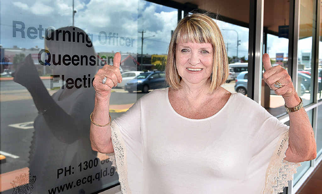 HAPPY TO VOTE: Gillian Palise has been given the go ahead to vote in the council election.