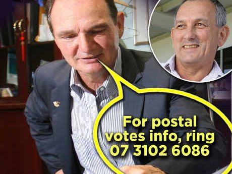 "Mayoral candidate Gary Duffy has accused Ipswich Mayor Paul Pisasale of beginning his election campaign with ""dirty tricks""."