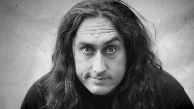 Comedian Ross Noble will bring his 'Brain Dump' show to the Mackay Entertainment and Convention Centre on Friday.