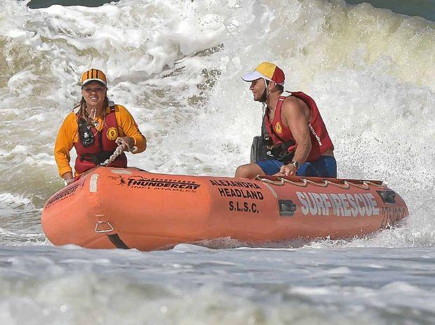 ALEX: Surf crews in action.