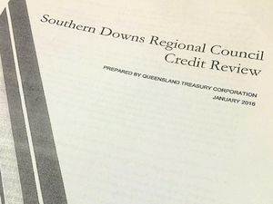 Credit review not all bad news for council's financial woes