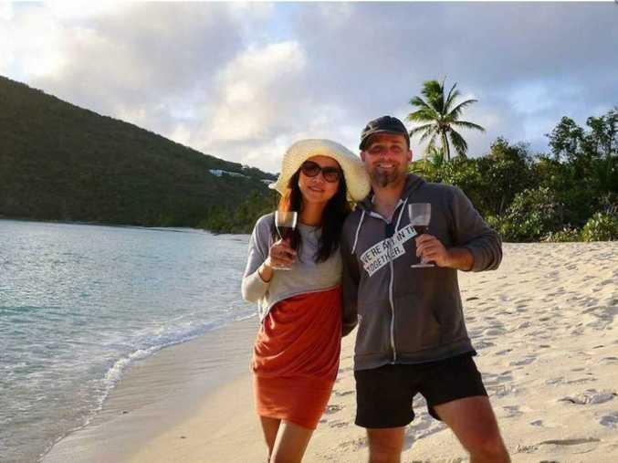 Jeremy Jacobson and Winnie Tseng