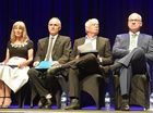 Battle lines drawn in mayoral debate