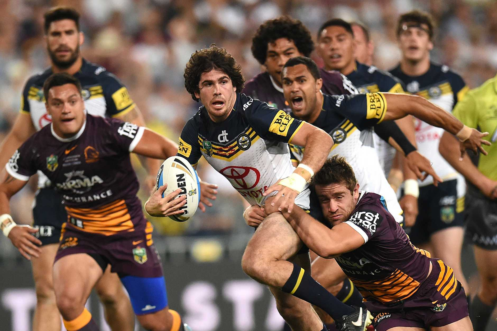 Jake Granville is ready to take another step this season for the Cowboys. Photo: AAP Image.