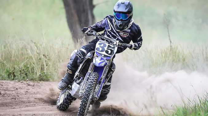 RIDING ON: Neil Collard took on the Queensland 2 Day Series earlier this month.Photo Contributed