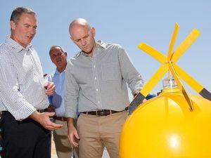 Keep clear of new shark buoys