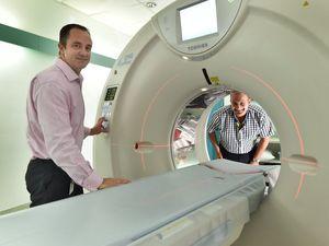 Hervey Bay Hospital CT scanner
