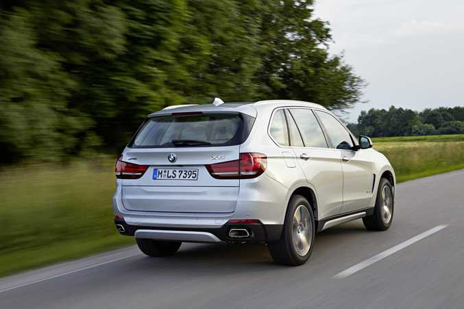 2016 BMW X5 xDrive40e. Photo: Contributed.