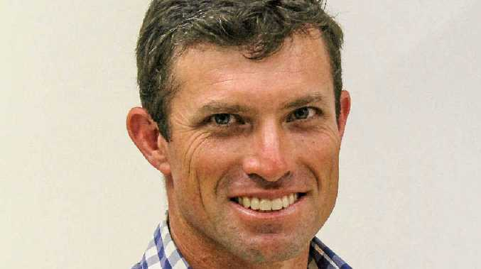 HAVE A GO: David Lacey is in the running for councillor on the Central Highlands Regional Council.