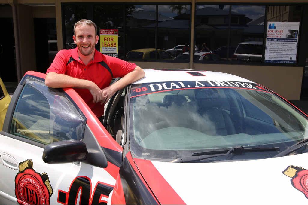 NEW BUSINESS: Rockhampton Dial-A-Driver 0.5's David Lewis.