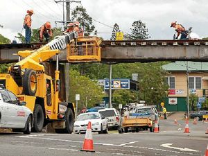 Project on track to limit risk of rail bridge crashes