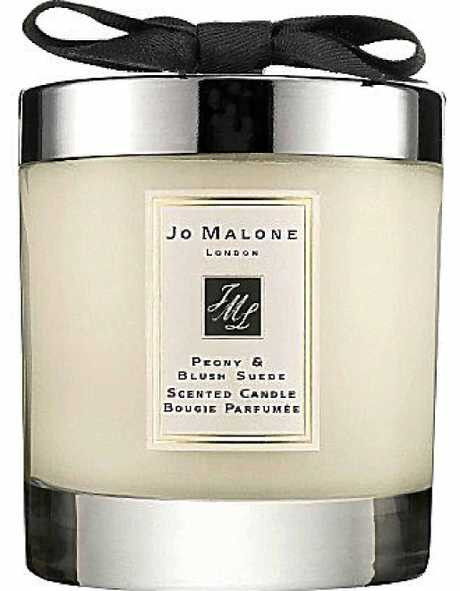 Jo Malone Lime, Basil and Mandarin Cologne 100ml, RRP $185 and Peony and Blush Suede scented candle, RRP $85. Available online and at leading department stores.