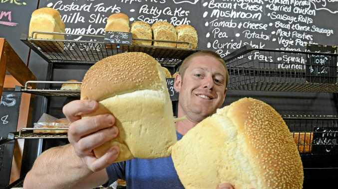 BREAD TO SHARE: Manager of Kingscliff Bakery, Allan Bellingham.
