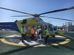 CareFlight airlifts two men after separate farm accidents