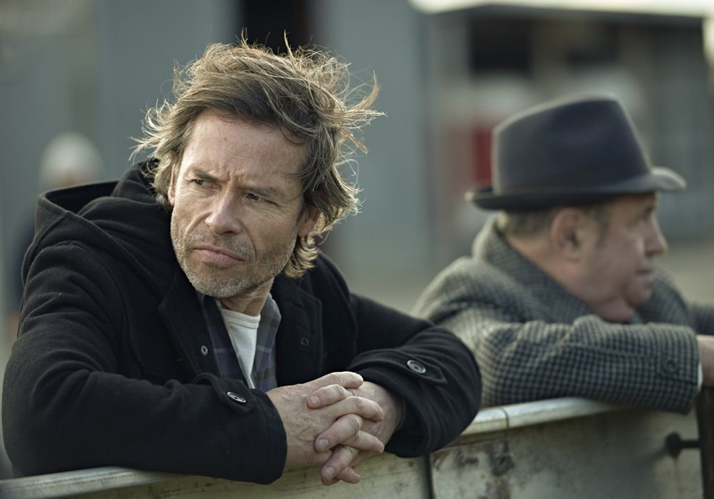 Guy Pearce in a scene from the TV series Jack Irish.