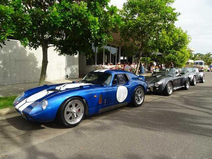 Daytona Sportscar at Marcoola's Bulli Cafe. Photo: Iain Curry