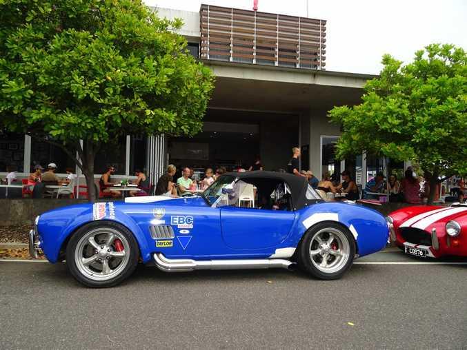 Eyecatching Cobra Cavalcade At Marcoola Sunshine Coast Daily - Drb sports cars queensland