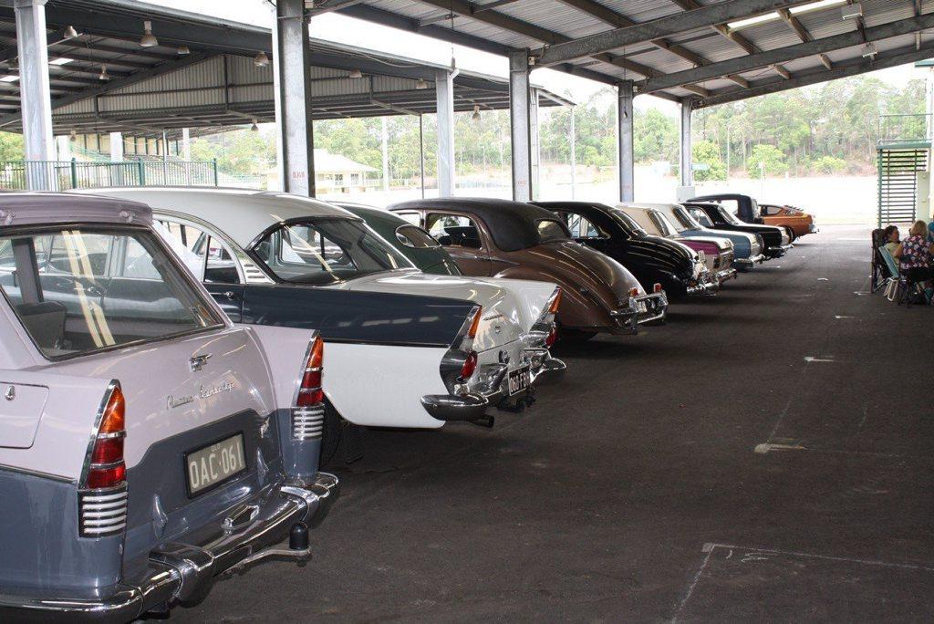 Sunshine Coast Antique Car Club Sign-On Day. Photo: Howard Hollow.