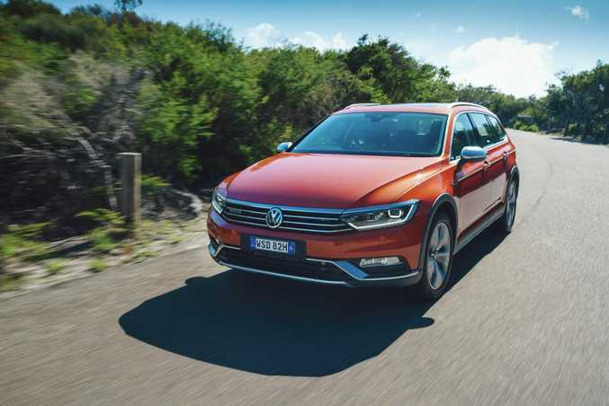 Volkswagen has launched the 2016 model Passat Alltrack.