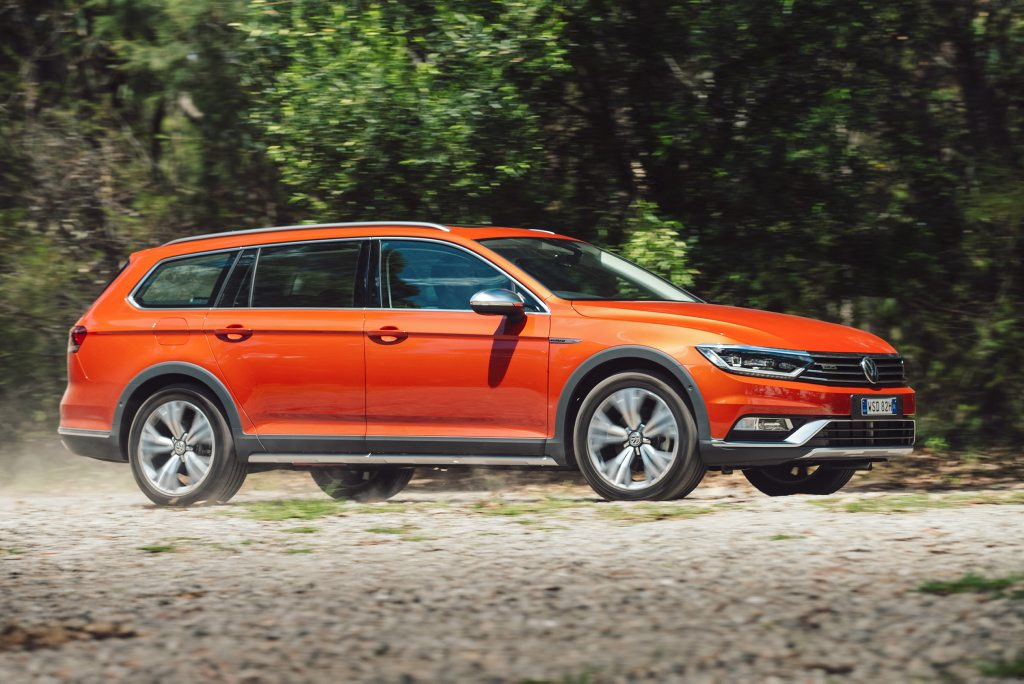 WAGON BACK: VW provides a compelling all-wheel-drive wagon alternative to the ubiquitous SUVs with its Passat Alltrack for $49,290.