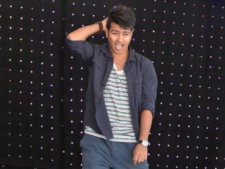 Student, dancer and choreographer Aditya Pankhaniya.