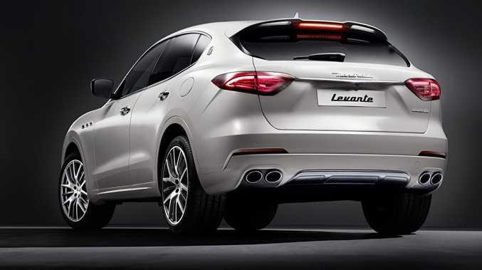Maserati Levante SUV. Photo: Contributed