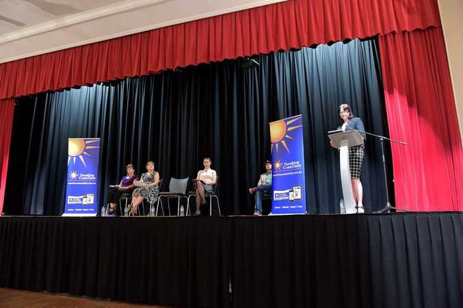 Sunshine Coast Election Forum for Division 5 held at the Maleny Community Centre.