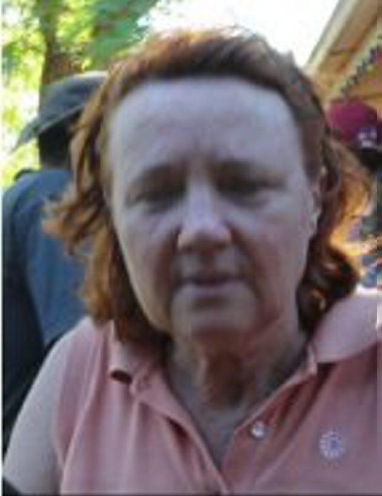 Barbara Troughton has been missing since January.