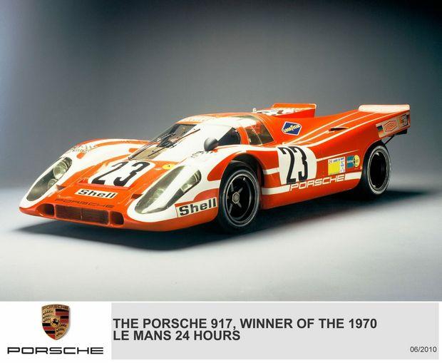 DREAM DRIVE: The iconic Le Mans winner, the Porsche 917.